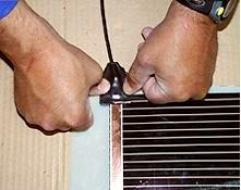 Изоляция мест подключений к проводке(термопленка)